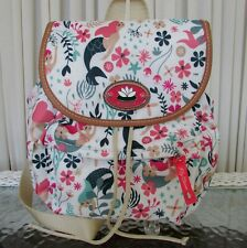 Lily Bloom Sea Garden Minnie Back Pack Eco Friendly Fabric