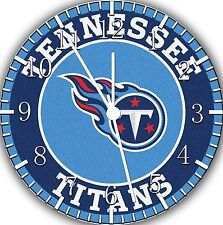 "Tennessee Titans wall Clock 10"" will be nice Gift and Room wall Decor E206"