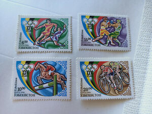 Uzbekistan 1996 Olympic Games Atlanta Stamps Set MNH
