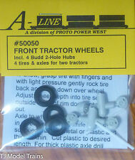 A-Line HO #50050 Budd 2-Hole Front Wheels for Semi Tractors