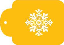 Single Rosette Medallion Cake Stencil by Designer Stencils #C149