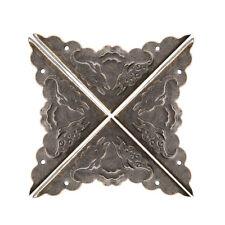 Decorative Antique brass Jewelry Gift Box Wooden Corner Protector GuardReusab Sz