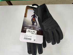 BMW Motorrad Motorcycle Gloves - Essential Model, Mens Size Large.