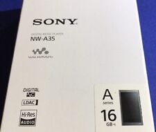 SONY Digital Audio Hi-Res Player Walkman A Series Black 16GB NW-A35 B
