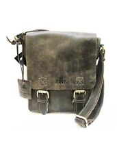 Rowallan Brushwood  Cross Body 100% Leather Messenger Shoulder Bag NEW