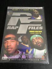 Rap Files - Volume 1: Game Time (DVD, 2004)