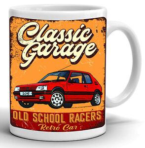 FRENCH CAR GEOT 205 GTI Coffee Tea Mug Cup Gift 11oz High Quality Ceramic