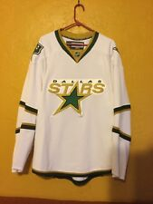 DALLAS STARS SIZE 56 REEBOK AUTHENTIC ROAD JERSEY 2007-13 FIGHT STRAP