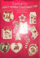 Holly Hobbie Christmas Fun - Ornament Punch-Out Book - Unused!