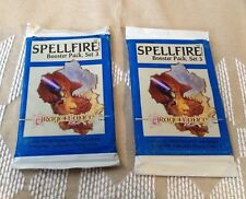 Lot of 2 Dragonlance Spellfire Booster Packs of 15 Cards each