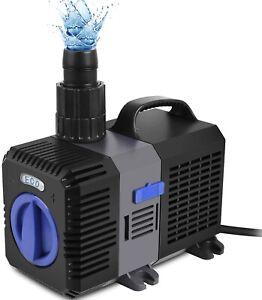 3600l/h Teichpumpe SuperECO Bachlaufpumpe CTP Filterpumpe WasserPumpe Tauchpumpe