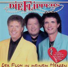 DIE FLIPPERS : DER FLOH IN MEINEM HERZEN / CD - NEU