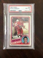 1984 Topps Steve Yzerman Rookie card #49 PSA 8 NM-M
