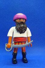 Playmobil LB-1 Ethnic Man Figure Pirate Arab Egyptian Sword Bandana