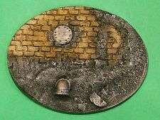 Warhammer 40K Resin Large Oval Rubble Base #2