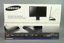 "NEW IN BOX SAMSUNG C27A750X 27"" CENTRAL STATION LED WIRELESS USB HUB MONITOR"