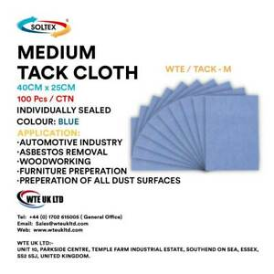 Tack Cloth   40cm x 25cm   x  100 Cloths to a Pack