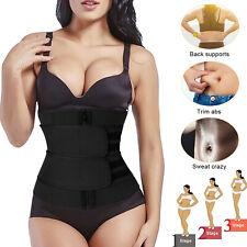 Women Waist Trainer Belt Sauna Sweat Body Shaper Slimmer Tummy Control Corset US