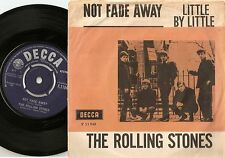 THE ROLLING STONES NOT FADE AWAY DANISH PS+45 1964 BUDDY HOLLY MOD R&B FREAKBEAT
