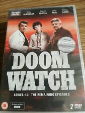 Doomwatch - Series 1-3 The Remaining Episodes [DVD] - Brand New