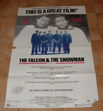"""Vintage 1985 FALCON AND THE SNOWMAN Movie Poster  26"""" x 39 1/2"""""""