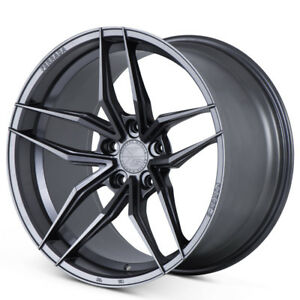 """20"""" FERRADA F8-FR5 GRAPHITE FORGED CONCAVE WHEELS RIMS FITS FORD MUSTANG GT"""