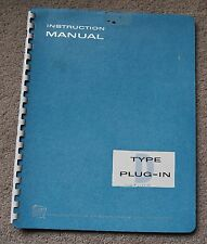 Tektronix TYPE D Plug in Service Manual all Schematic, Parts: 070-228