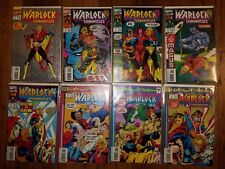 MARVEL COMICS LOT: WARLOCK CHRONICLES  #1-8  (1993)