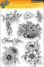 """""""Penny Black Clear Stamps 5""""""""X7""""""""-Flower Gallery"""""""
