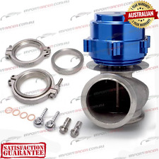 60MM V-BAND WASTEGATE BLUE TiAL Style V60 Air Cooled 2 Springs 1 Year Warranty