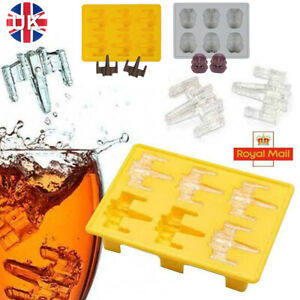 Star Wars Ice Cube Tray - Storm Trooper - Mould Soft Silicone Cake Jelly Whisky