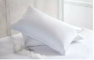 Pillow pair pack - Two Polycoton Pillows  - Firm support - Painless Neck pain