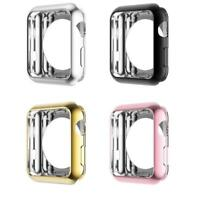For Apple Watch Series 4 TPU Bumper iWatch Screen Protector Case Cover 40/44MM