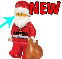 NEW LEGO 2017 WAITING FOR SANTA CLAUS  Christmas minifigure figure SUPER RARE!