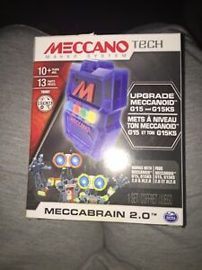 Meccano Tech Meccanoid XL Personal Robot Meccabrain 2.0 Add On Upgrade NEW!