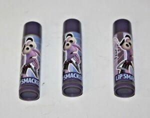 Lip Smacker Disney/Pixar I Scream Shake Fear Lot Of 3 Unsealed / New