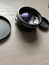 Tiffen Telephoto Converter Lens 2.0X 37mm Snap With CAPS Made In Japan Mint