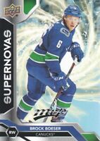 2019-20 Upper Deck MVP Hockey Supernovas #SN2 Brock Boeser