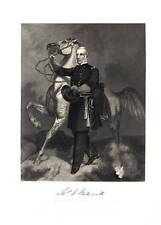 VINTAGE STEEL ENGRAVING PRINT 1864 UNION GENERAL JAMES SAMUEL WADSWORTH
