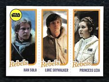 2016 Topps Star Wars The Empire Strikes Back Tbt Complete 6 Card Set W/ Han Solo