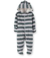 Gestreifter Schneeanzug für Baby Jungen