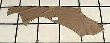 "Smooth ""Grullo"" Taupe-Brown Scrap Leather Hide Approx. 4 sqft. Q13Z10-7"