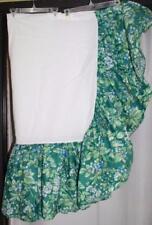 "Laura Ashley Brambleberry Twin Bed Skirt Ruffle Bed Skirt 52"" across top"