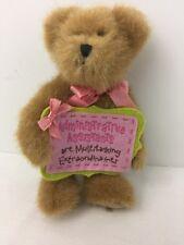Boyds Bear Plush Maggie Multitasker Administrative Assistant / Secretary