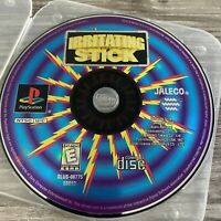 Irritating Stick Sony Playstation One PS1 PSX Game Disc Only Free Ship