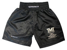 Floyd Mayweather Unsigned LE/ 50 TMT Black Trunks 12535
