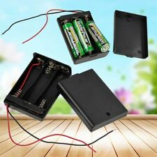 ON/OFF Switch with Cover AA Battery 2AA 3AA 4AA Battery Holder Box Case