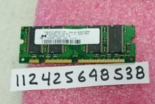 MT8VDDT12832UY-6F1  512MB   DDR  333  PC2700  100 Pin  SODIMM  PRINTER MEMORY