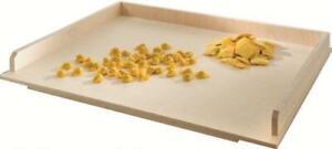 Spianatoia in legno di betulla asse stendi pasta con bordo tavola per farina