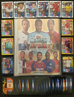 2019/20 Match Attax UEFA Soccer Cards - 100 cards incl Gold Limited FREE Binder
